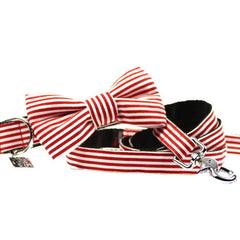 Dog Collar, Bow tie and Leash Set : Didgeridoo