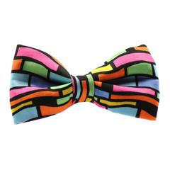 Dog Bow Tie and Collar Set : Crazy Neon - Dharf - 3