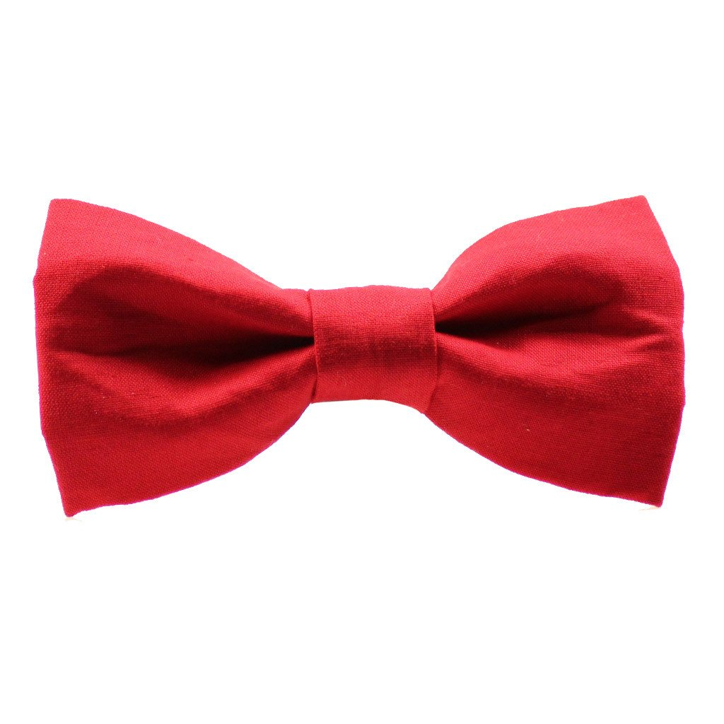 Dog Bow Tie : Merry Red - Dharf - 1