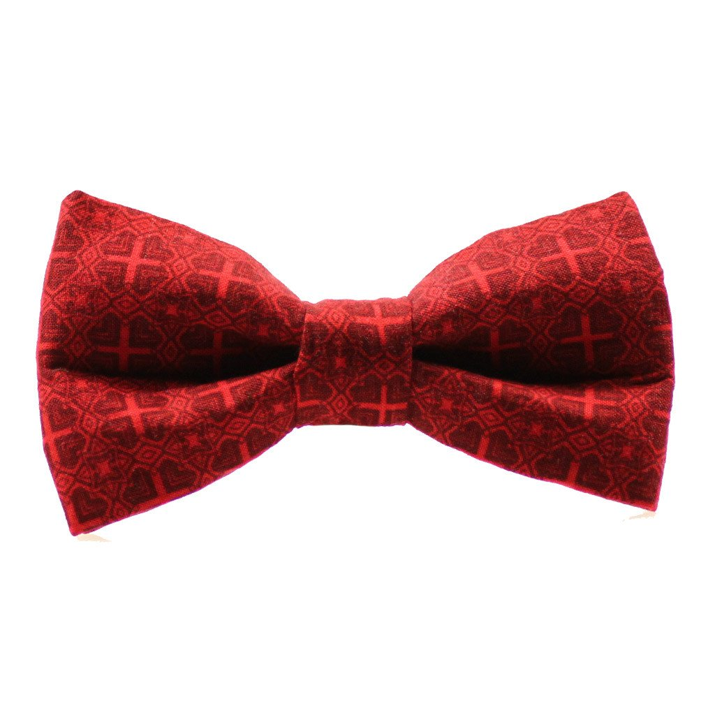 Dog Bow Tie : Vintage Red - Dharf