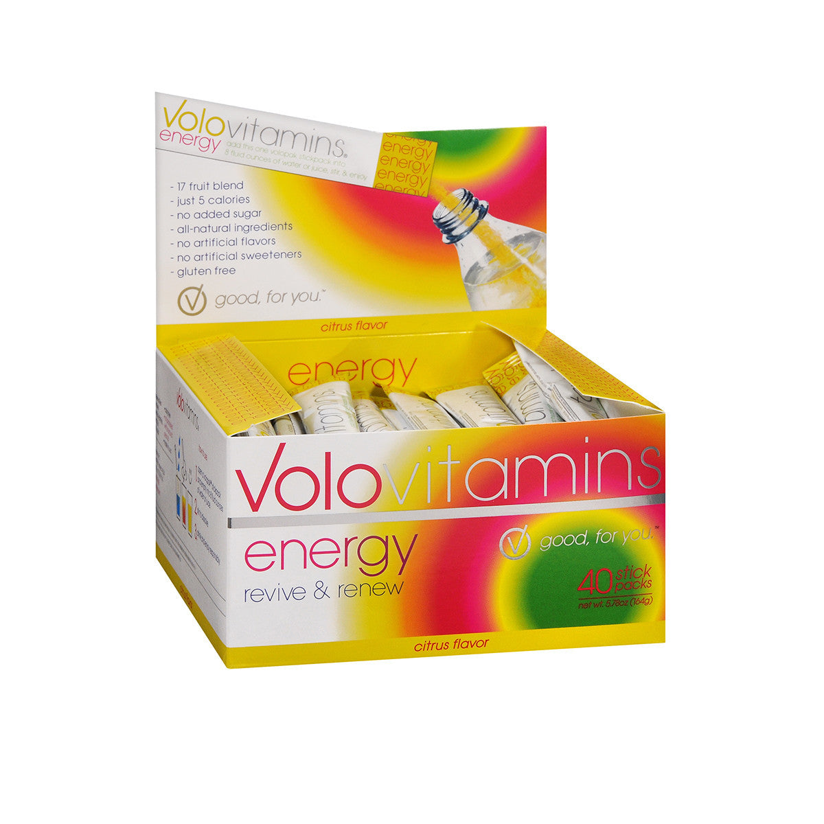 Volo Energy Stickpacks - Citrus 40 Pack