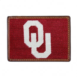 SMATHERS AND BRANSON UNIVERSITY OF OKLAHOMA CARD WALLET
