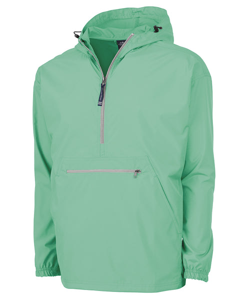 1/4 ZIP WIND BREAKER MINT