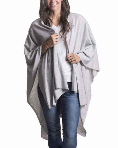 *Cotton Cashmere Travel Wrap