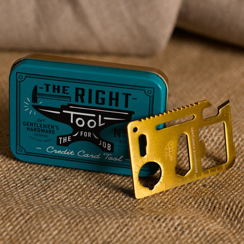 TOOLS & GADGETS     CREDIT CARD TOOL