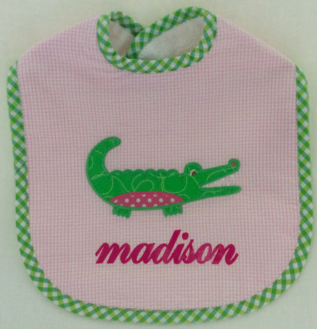 Bib-Alligator Applique