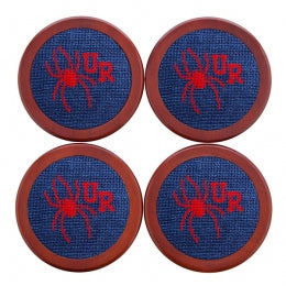 Smathers & Branson University of Richmond Needlepoint Coasters