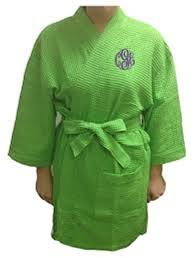 SPA ROBE LIME
