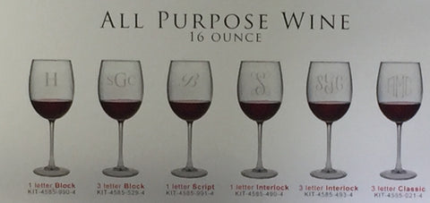 ALL PURPOSE WINE GLASS 16 OUNCES