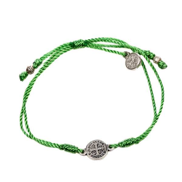 BREATHE BRACELET WITH SILVER MEDAL
