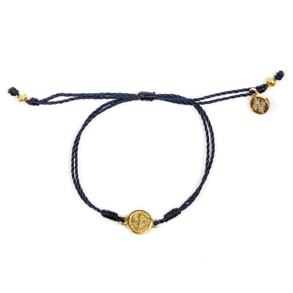 BREATHE BRACELET WITH GOLD MEDAL