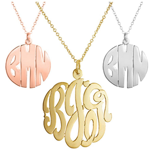 Necklace - Silver or Gold Cutout