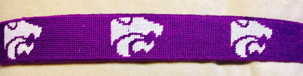 SMATHERS AND BRANSON KANSAS STATE UNIVERSITY NEEDLEPOINT BELT