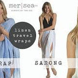 *linen travel wrap