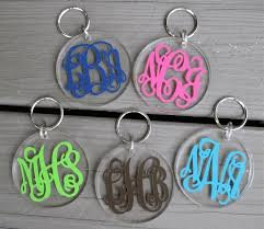 Personalized Acrylic Key Chain in Color
