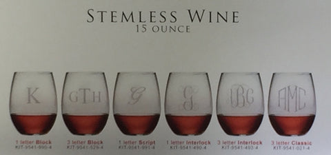 STEMLESS WINE GLASS (GLASS) 15 OUNCE