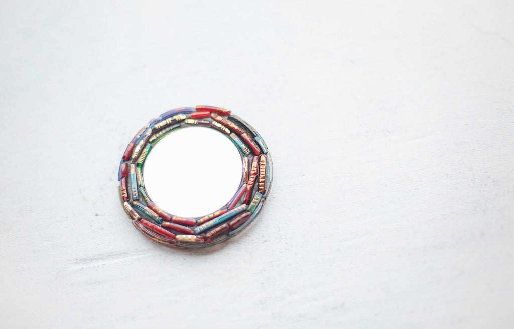 Broken Bangle Pocket Mirror