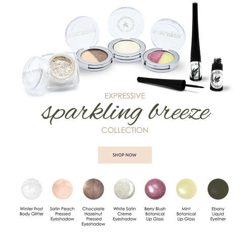 Sparkling Breeze Expressive Beauty Style Collection