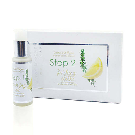 Lauren Brooke Cosmetiques Two Step Cleansing System - Acne-Prone/Oily Skin - Acne-Prone Skin, Oily Skin