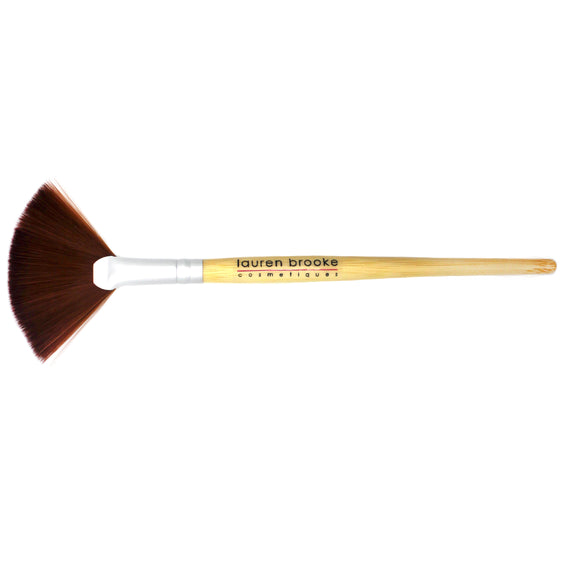 Lauren Brooke Cosmetiques Eco-friendly Fan Brush - Bamboo Brushes, Eco-friendly Brushes