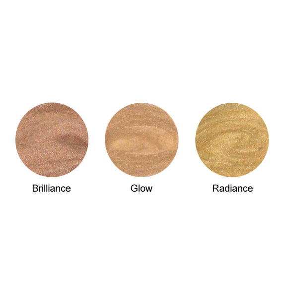 Lauren Brooke Cosmetiques Luminous Face Highlighter Samples -