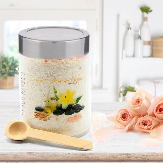 Lauren Brooke Cosmetiques Exotic Spa Soak - Sweet Almond Escape - Bath Soak