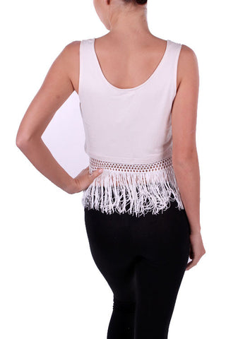Fringe Benefits Tank Top