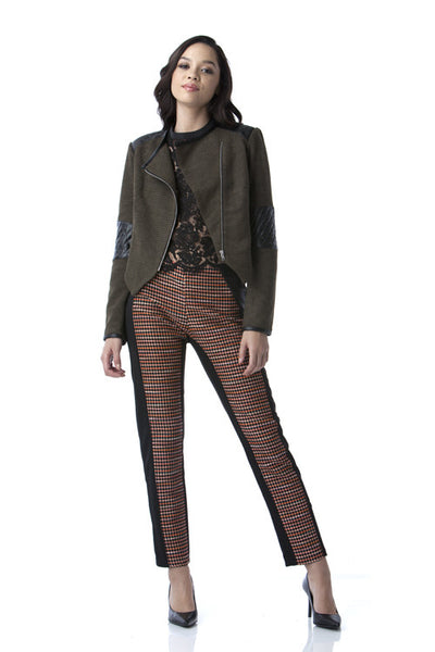 Jacquard Mixed Pants