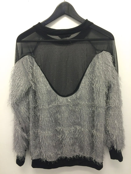 Hairy Mesh Sweater