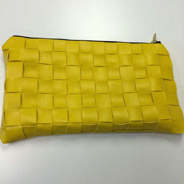 Chic Woven Clutch