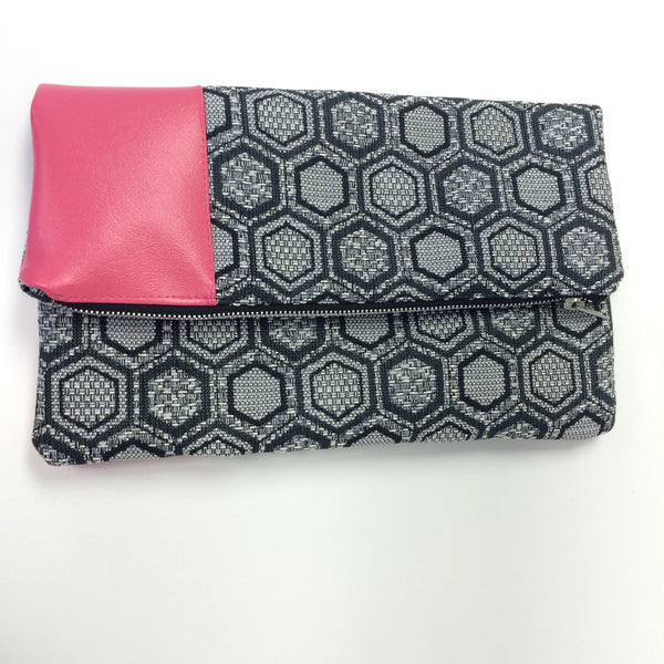 City Chic Fold-Over Clutch