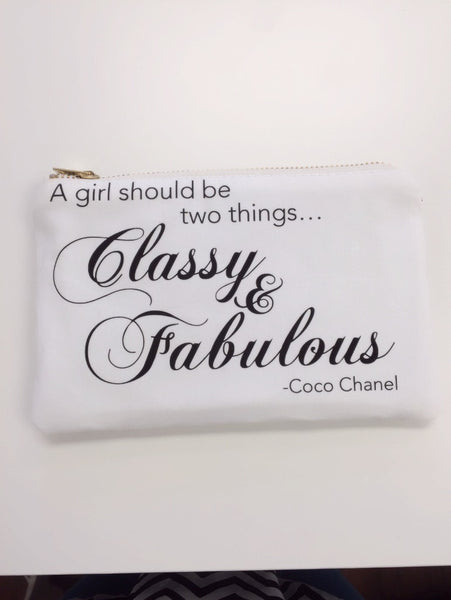 Classy and Fabulous Pouch