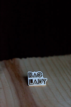 Bag Lady Pin