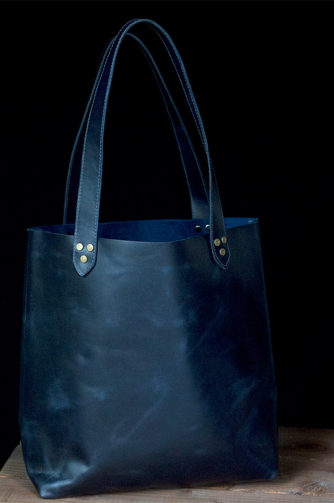 The Vendee Bag Indigo