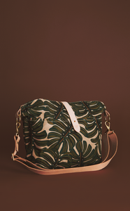 The Monstera Vagabond Bag