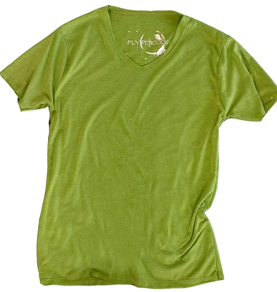 Green Tree V-neck