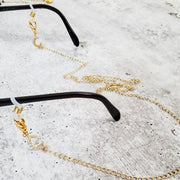 Stars Face Mask Chain Necklace - Celestial Glasses Holder - Trendy Mask Accent