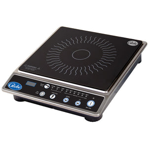 Globe IR1800 Ceramic Countertop Induction Range with Digital Timer - 1800W - JrcNYC