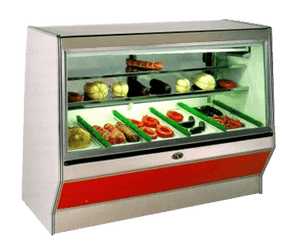 SF Series, Remote & Self-Contained, Straight Front Glass, Double Duty, Meat & Deli Merchandiser - JrcNYC