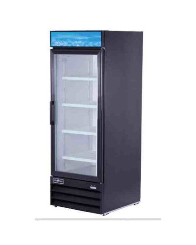 1 Glass Door Cooler Merchandiser 23 Cu.Ft SGM-23RV Spartan - JrcNYC