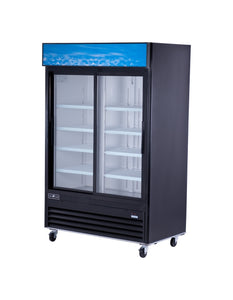 Spartan SGM-53R 2 Door Reach-In Glass Door Refrigerator - JrcNYC