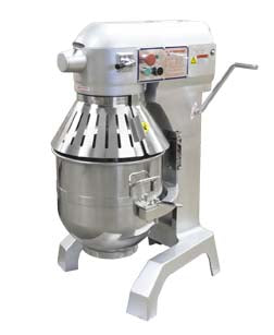 Amercian Eagle Dough Mixer W/Guard-30 Quarts-3 Speeds-AE300A - JrcNYC