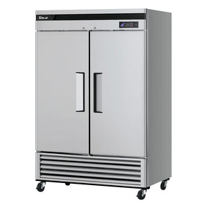 "Turbo Air TSF-49SD-N Super Deluxe 54"" Solid Door Reach-In Freezer with LED Lighting - JrcNYC"