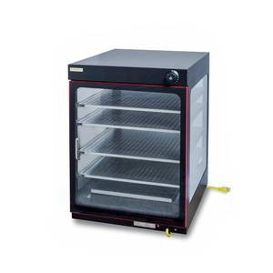 Hebvest PD04HT Countertop Heated Pizza Display Case - JrcNYC