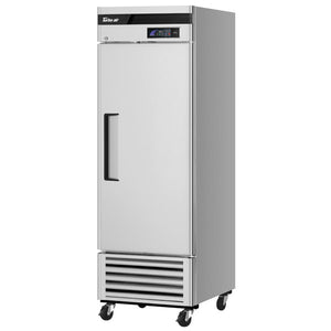 "Turbo Air TSR-23SD-N6 Super Deluxe 27"" Bottom Mounted Solid Door Reach-In Refrigerator with LED Lighting - JrcNYC"