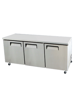 BISON BUR-72 32.8 CU FT REACH‐IN UNDERCOUNTER REFRIGERATOR - JrcNYC