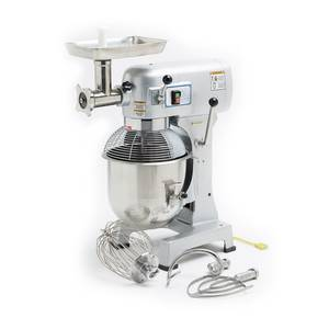 Hebvest SM20HD 20 Quart Commercial Mixer With Meat Grinder Attachment - JrcNYC
