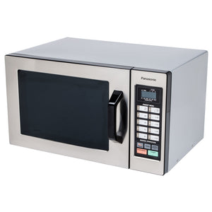 Panasonic NE-1054F Stainless Steel Commercial Microwave Oven - 120V, 1000W - JrcNYC
