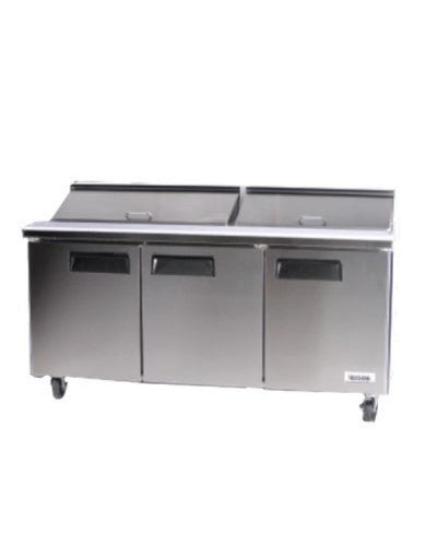 BISON BST‐72 SANDWICH / SALAD PREPARATION REFRIGERATOR 22.6 CU. FT - JrcNYC