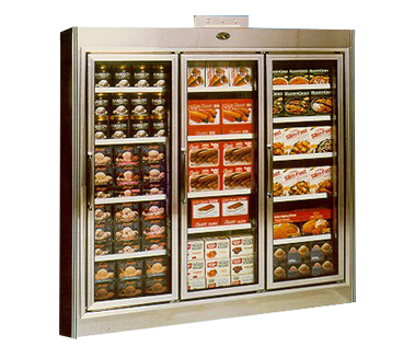 GDL Series, Remote, Swing Door, Reach-In Freezers - JrcNYC